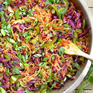 Vegetable Stir Fry with Noodles Recipe | SideChef