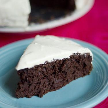 Dad's Healthy Chocolate Cake Recipe | SideChef