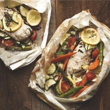 Chicken en Papillote with Spring Vegetables Recipe | SideChef