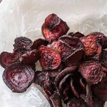 Roasted Beet Chips Recipe | SideChef