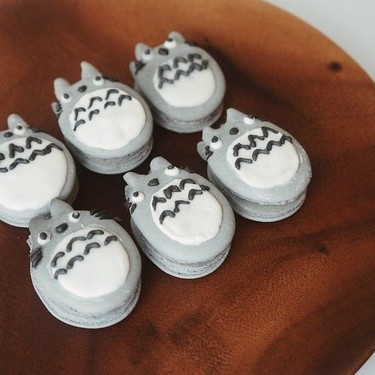 Totoro Macarons Recipe | SideChef