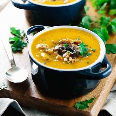 Rustic Italian Butternut Squash Soup Recipe   SideChef