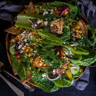 Mexican Fattoush Salad Recipe | SideChef