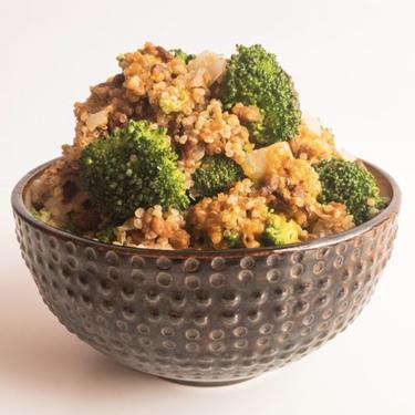 Vegan Cheesy Beef Quinoa Recipe   SideChef