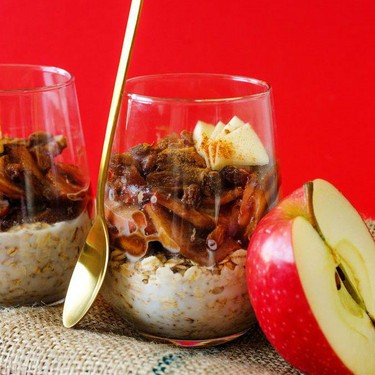 Apple Pie Overnight Oats Recipe | SideChef