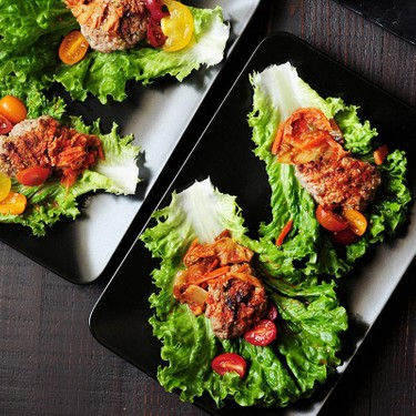Korean Beef Lettuce Wraps with Kimchi Recipe   SideChef
