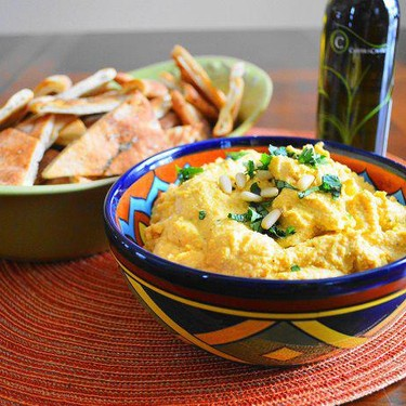 Roasted Butternut Squash Hummus Recipe | SideChef