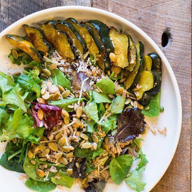 Roasted Acorn Squash and Farro Salad Recipe | SideChef