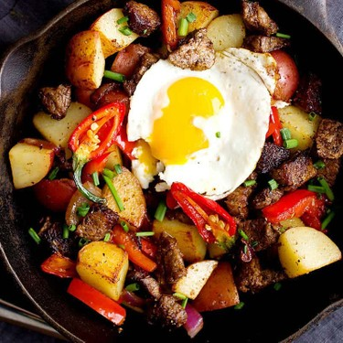 Carne Asada Hash Recipe | SideChef