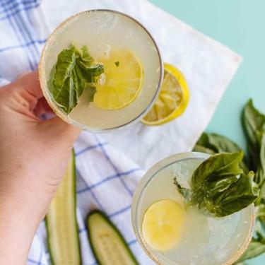 Cucumber Basil Mezcalita Cocktail Recipe | SideChef