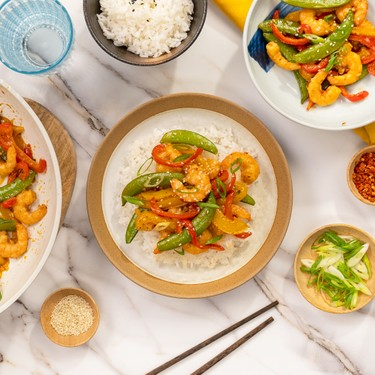 Garlic Shrimp Vegetable Stir-Fry Recipe   SideChef