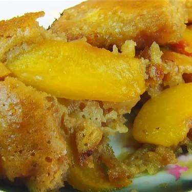 Peach Batter Cobbler Recipe | SideChef