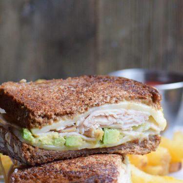 Turkey, Avocado & Honey Mustard Cali Melt Recipe | SideChef