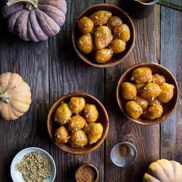 Pumpkin Loukoumades Recipe   SideChef