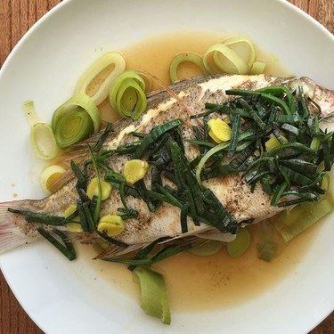 Whole Steamed Chinese Fish Recipe   SideChef