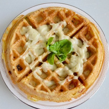 Sun-Dried Tomato and Spinach Waffles Recipe | SideChef