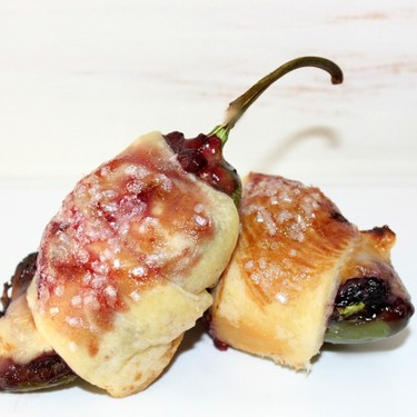 Berry and Brie Jalapeño Poppers Recipe | SideChef