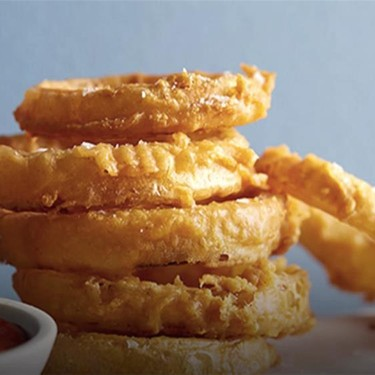 Beer-Battered Onion Rings Recipe   SideChef
