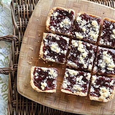 Shortbread Jam Bars Recipe   SideChef