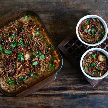 Cauliflower and Mushroom Kugel Recipe   SideChef