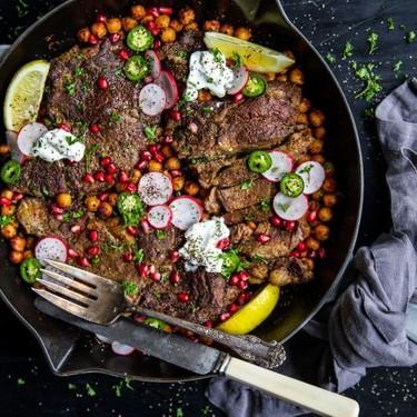 One-Skillet Curry Steak Recipe | SideChef