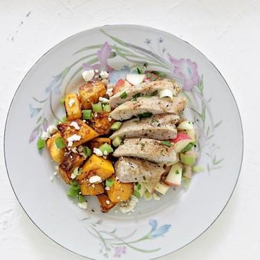 Chicken Breast with White Bean and Apple Salsa Recipe   SideChef