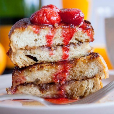 Vegan Peanut Butter and Jelly French Toast Recipe   SideChef