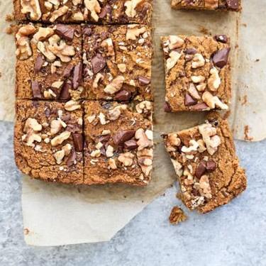 Gluten-Free Pumpkin White Bean Blondies Recipe | SideChef