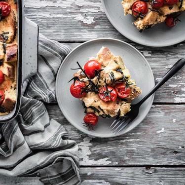 Vegan Summer Strata Recipe | SideChef