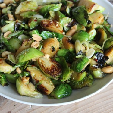 Crunchy Thai-Style Brussels Sprouts Recipe | SideChef