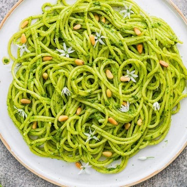 Wild Garlic Pasta Recipe | SideChef