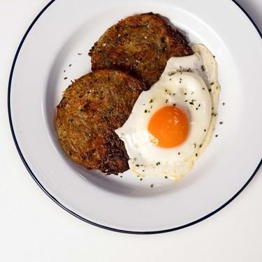 Rosemary Potato Rostis with Fried Eggs Recipe | SideChef