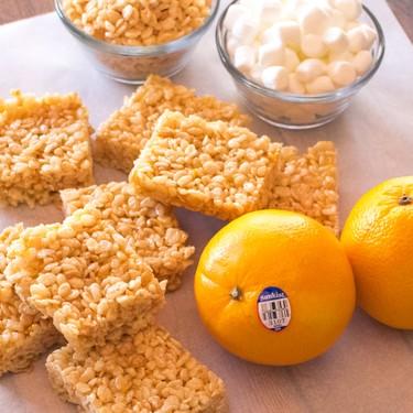 Orange Crispy Rice Cereal Treats Recipe | SideChef