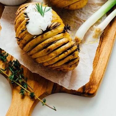 Herby Hasselback Potatoes Recipe | SideChef