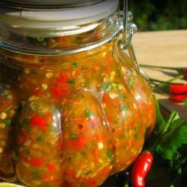 Chunky Garlic Pepper Sauce Recipe | SideChef
