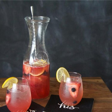 Berry & Rose Sangria Recipe | SideChef
