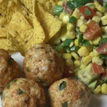 Mexican Meatballs with Salsa Salad Recipe   SideChef