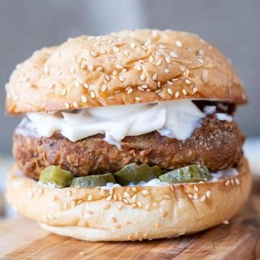 Vegan Fried Chicken Sandwich Recipe | SideChef