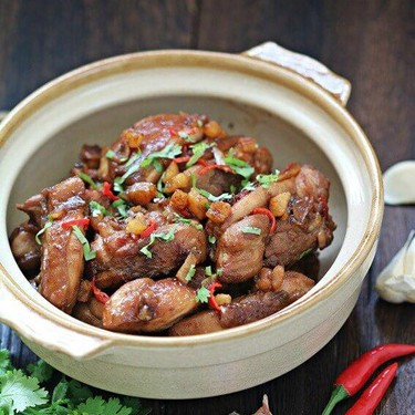 Stir Fry Chicken with Salted Fish Recipe | SideChef