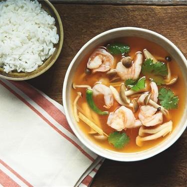 Tom Yum Soup with Shrimp and Jasmine Rice Recipe   SideChef