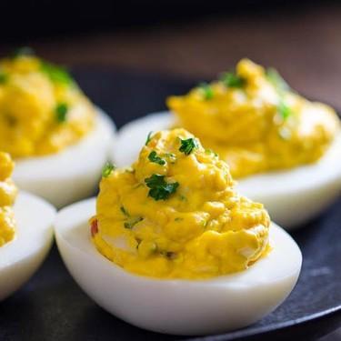 Lobster Deviled Eggs Recipe | SideChef