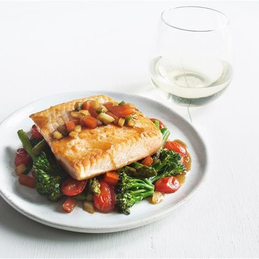 Arctic Char with Vegetable Stir Fry and Finadene Recipe | SideChef