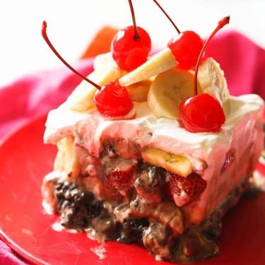 Banana Split Frozen Dessert Recipe | SideChef