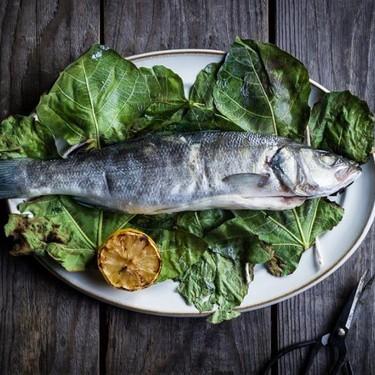 Fig Leaf Wrapped Grilled Fish Recipe | SideChef