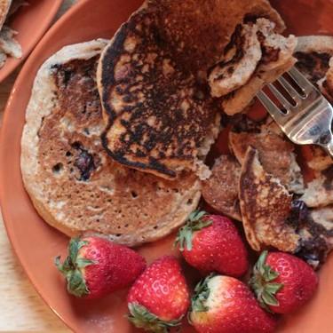Vegan Blueberry Pancakes Recipe   SideChef