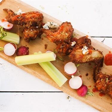 Gorgonzola Crusted Chicken Wings Recipe | SideChef