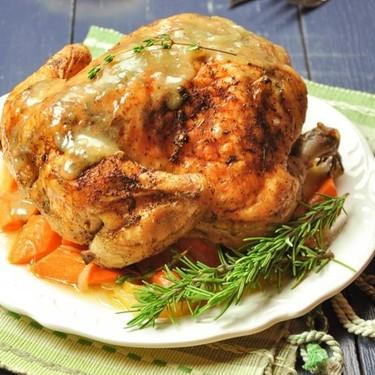 Roasted Lemon Herb Whole Chicken Recipe | SideChef