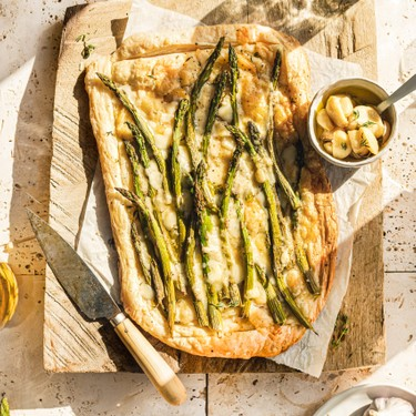 Asparagus and Cheese Tart Recipe   SideChef