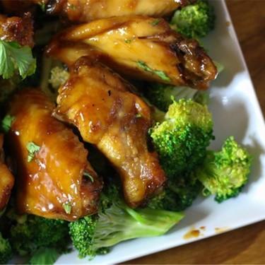Lemon Ginger Sticky Wings Recipe | SideChef