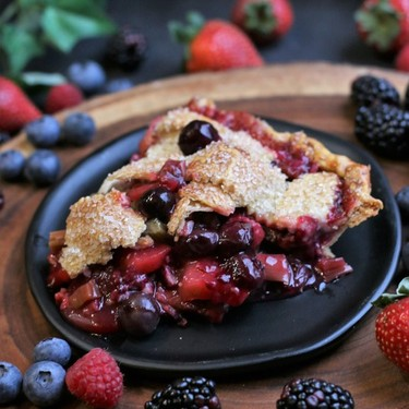 Fruit of the Forest Pie Recipe   SideChef